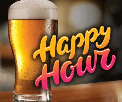 4. Happy Hours $5 Pints everyday 5pm-7pm